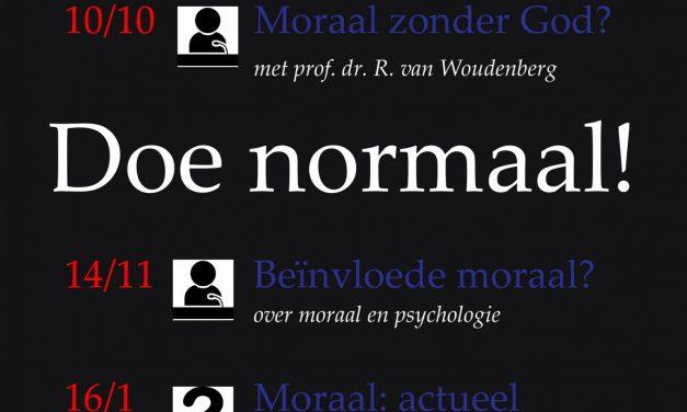 HJT 'Doe normaal?'